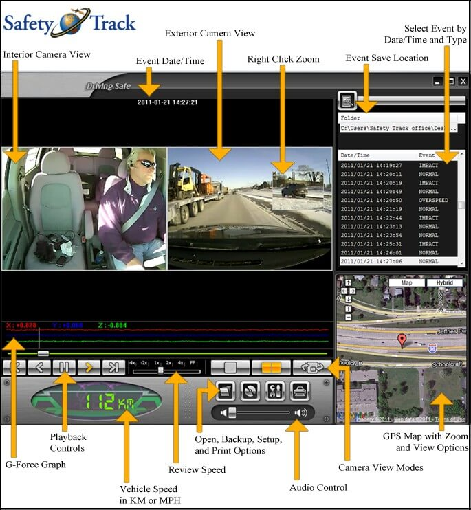 Vehicle Camera Software