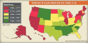 April 2013 Gas Prices