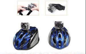 bike helmet with cam