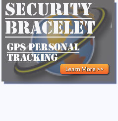 St 911 Enforcer Gps Personal Tracking Bracelet Locate To Protect For Justice