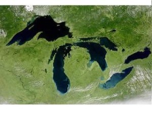 michigan satellite view