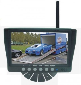 Wireless Fleet Backup Camera System